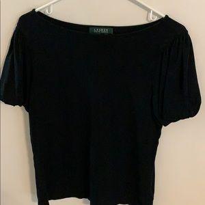 Ralph Lauren black medium top